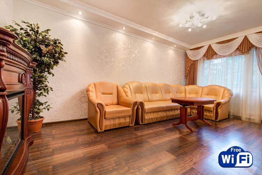 2-комнатная квартира посуточно Днепр Набережная Победы