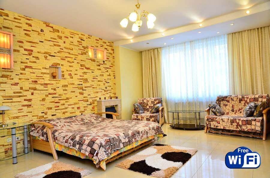 1-комнатная квартира на набережной днепр